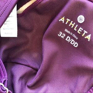 Athleta Swim - Athleta Marrakesh side scrunch tankini top.32D/DD